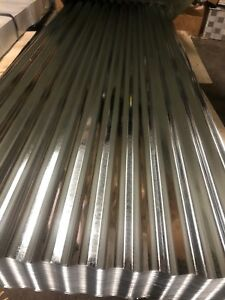 Corrugated Metal Galvanized 3x8 Foot Panels Brand New 5mm Fence Roof