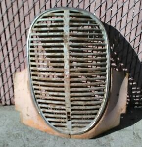 1939 Ford Pickup Grill And Lower Panel Valance 39 Grille