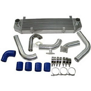 Cxracing Intercooler Kit Bov For 90 94 1g Dsm Eclipse Talon Turbo 4g63