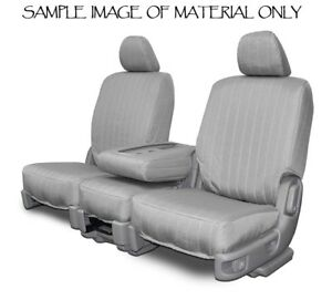 Custom Fit Seat Covers For 1998 2004 Jeep Grand Cherokee In Silver Canvas