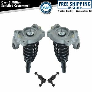 Front Suspension Kit Strut Spring Assemblies With Sway Links For Chrysler New