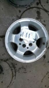 Jeep Tj Wrangler 15x8 Canyon Style Aluminum Factory Rim Wheel 5 Spoke 00 03 6287
