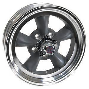 15x6 American Racing Torq Thrust D Gray Aluminum Mag Wheel 5x4 5 Vn1055665