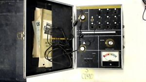 Parts Only B K Model 607 Solid State Tube Tester