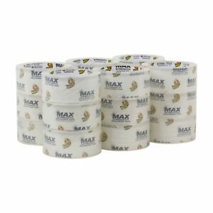 Duck Max Strength Packing Tape Refill 18 Rolls 1 88 Inch X 54 6 Yard Clear 2