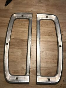 67 72 Ford Truck Tail Light Taillight Trim Rings Both Sides Oem 1967 1972