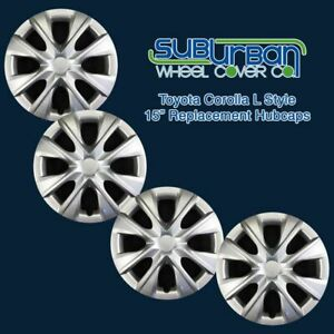 2014 2018 Toyota Corolla L Style 529 15s 15 Hubcaps Wheel Covers New Set 4