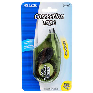 New 369990 Correction Tape W Grip 5mm X 236 24 pack School Supplies Cheap