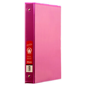 New 328406 Binder 1 Fuschia Color W View bazic 12 pack Binders Wholesale