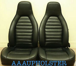 Vinyl Recovery Kit Covers For Porsche 924 944 1976 84 With Standard Seats Only