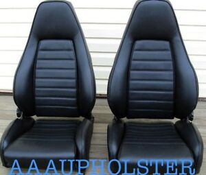 Vinyl Recovery Kit Covers For Porsche 911 912 924 930 With Sports Seats Only