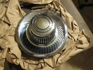 Original Chevy Rally Wheel Center Derby Cap Corvette Camaro Chevelle