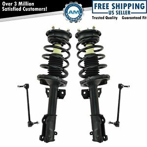 Front Suspension Kit Strut Spring Assemblies W Sway Links For 05 10 Mustang