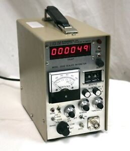 Ludlum 2200 Scaler Rate Meter Sca Geiger Counter Radiation Detector Later Style