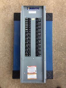 Square D Electrical Panel Includes 16 30 Amp And 10 20 Amp Breakers