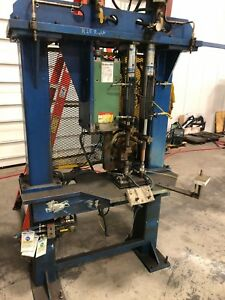Centerline Large Resistance Ac Spot Welder With Tooling Voltza Weld Gun