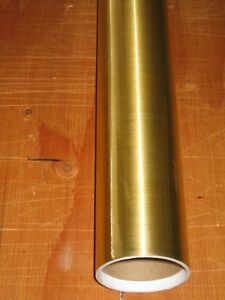 Brushed Gold 5 Year Outdoor Sign Making Vinyl 25 X 10ft