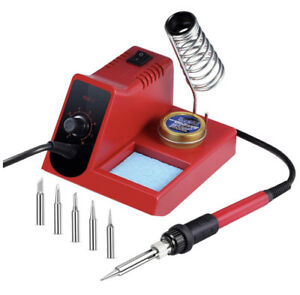 Soldering Iron Station 60 Watt 8 Level Temperature Adjust Welding Station