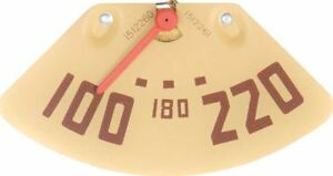1947 1951 Gmc Pickup Truck 8 Cylinder Temperature Gauge Red Needle