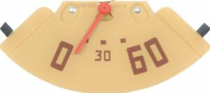 1947 1951 Gmc Pickup Truck Oil Pressure Gauge 0 60 Pounds Red Needle