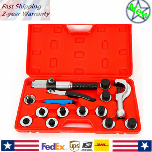 Tube Expander Tubing 11 Lever Hydraulic Expanding Tool Swaging Box 1 1 8 New
