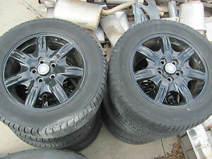 Jaguar S type Set Of 4 16 Wheels Rims Tires 2000 2001 2002 2003 2004 2005 2006