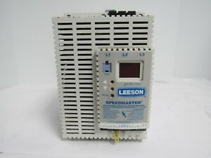 Leeson Speedmaster Adjustable Speed Ac Motor Control 174441 00