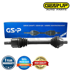 Gsp Front Left Cv Axle Joint Shaft For Audi Tt Fwd Auto Manual Turbo 1 8l L4