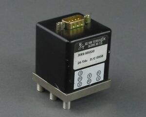 Relcomm Technologies Rrs sr020 Coaxial Switch 26 Vdc Sma Female D sub