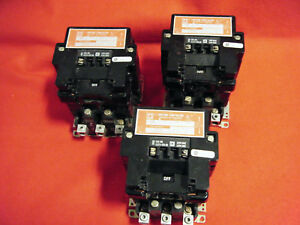 Square D 8903 Sq02 Series 2 Lighting Contactor 3 Pole 100 Amp 120v Coil