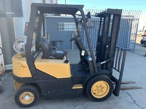 2003 Daewoo G20e 3 Solid Tire Forklift Used Good Running