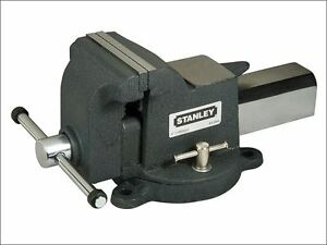 Stanley Maxsteel Heavy duty Bench Vice 100mm 4in