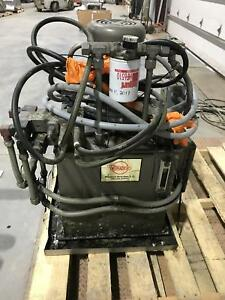 Womack Systems 5hp Hydraulic Power Unit 208 230 460v 3ph
