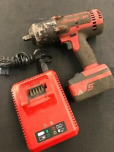 Snap On Ct8850 18v 1 2 Drive Cordless Impact Wrench Battery Charger