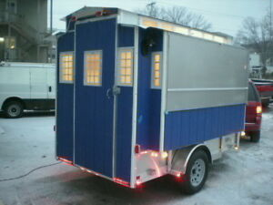 Custom For You 7 X 14 Food Concession Trailer