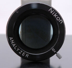 Nikon Rotatable Analyzer linear Polarizer For Microscope comparator Excellent