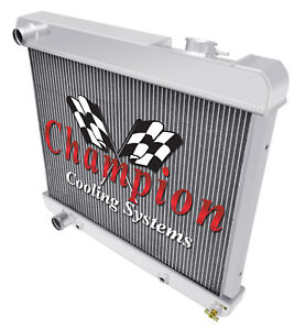 1961 1962 Olds Starfire Radiator Champion 2 Row Aluminum