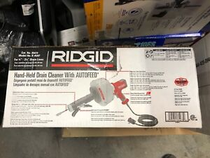 New Ridgid 115 v K 45af Drain Cleaner W c 1 5 16 Inner Core Cable