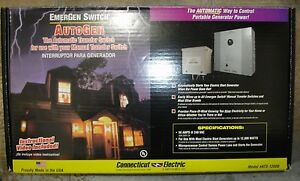 New Emergen Automatic Generator Transfer Switch Kit 50 Amp Ats 12000 Ships Today