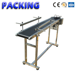 110v Stainless Steel Pvc Belt Electric Conveyor Machine For Conveying Bottles