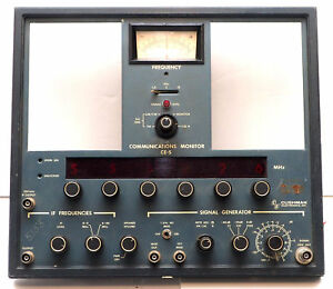 Front Panel W Meter Knobs Controls From Cushman Ce 5 Communications Monitor