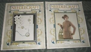 2 December 1923 And January 1924 Publications Needlecraft