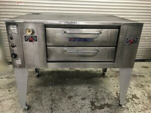 66 Single Deck Nat Gas Baking Oven New Stones Bakers Pride 9455 Commercial