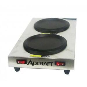 Admiral Craft Swp Side Warmer Plate 2 warmers