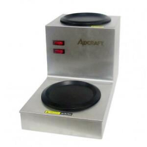 Admiral Craft Twp Step Up Warmer Plate 2 Warmers