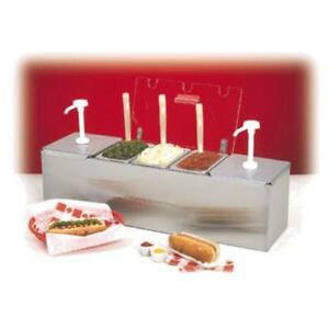 Nemco 88100 cb 1 Roll a grill Condiment Station 25 75 w X 8 d