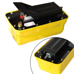 Air Powered Hydraulic Foot Pedal Pump10 000psi For Auto Body Frame Machine 2 3l