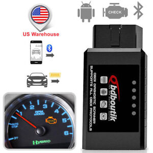 Ford Elm327 Bluetooth Obd2 Code Reader Scanner Engine Diagnostic Scan Tool