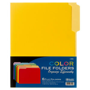 New 319116 File Holder 6pc Color manila 48 pack Filing Cheap Wholesale
