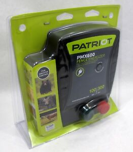 Patriot Global Pmx600 Fence Control Charger Energizer 100 Miles 300 Acres